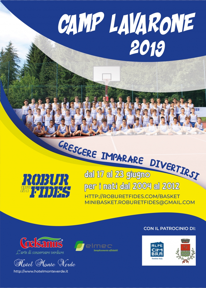 SUMMER CAMP LAVARONE 2019