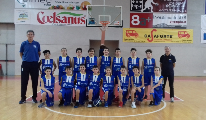 Campus under 13 batte Albese nel big match