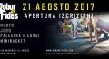 21 Agosto 2017 - Apertura iscrizioni